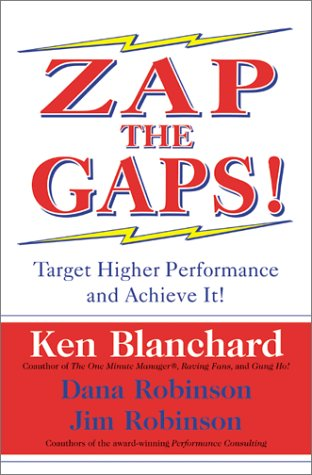 Zap the Gaps! Target Higher Performance and Achieve It!  2002 edition cover