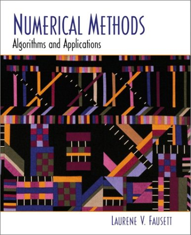 Numerical Methods Algorithms and Applications  2003 edition cover