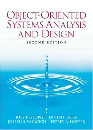 Object-Oriented Systems Analysis and Design  2nd 2007 (Revised) edition cover