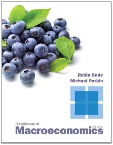 Foundations of Macroeconomics  6th 2013 (Revised) edition cover