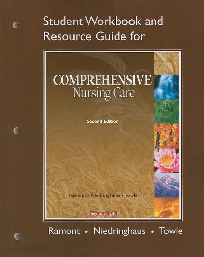 Study Guide for Comprehensive Nursing Care  2nd 2010 9780135041000 Front Cover