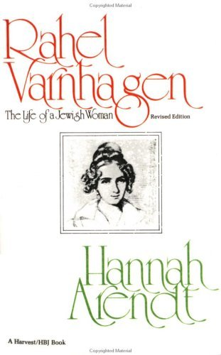 Rahel Varnhagen The Life of a Jewish Woman Revised edition cover