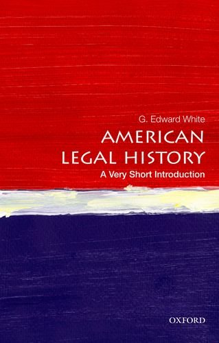 American Legal History   2013 edition cover