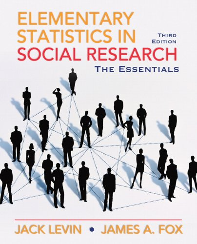 Elementary Statistics in Social Research  3rd 2011 edition cover