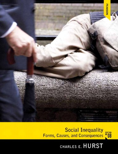 Social Inequality Forms, Causes, and Consequences 8th 2013 edition cover