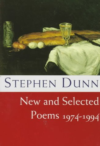 Stephen Dunn New and Selected Poems, 1974-1994 N/A edition cover