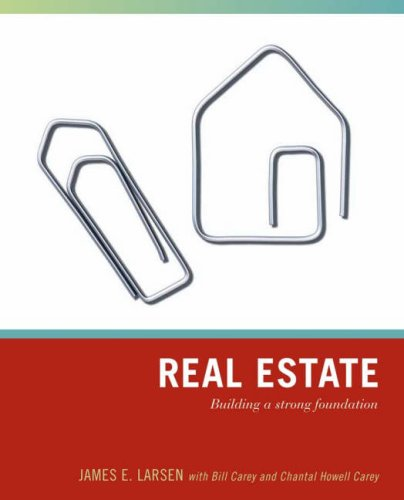 Real Estate Building a Strong Foundation  2007 edition cover