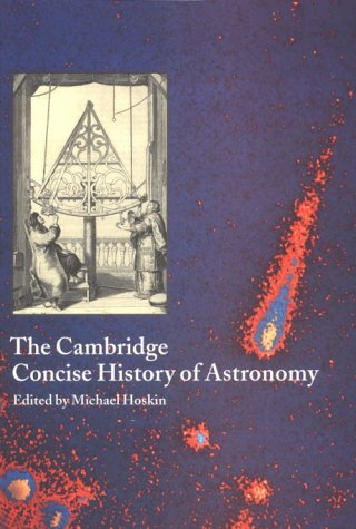 Cambridge Concise History of Astronomy   1998 edition cover