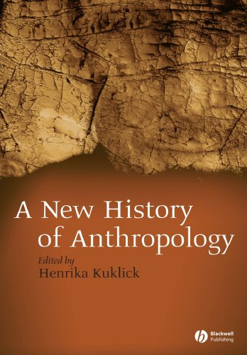 New History of Anthropology   2007 edition cover