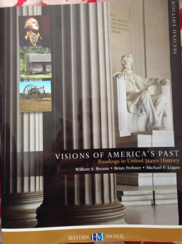 VISION OF AMER.PAST:READINGS...>CUSTOM< N/A 9780738051000 Front Cover