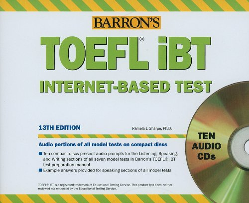 Barron's Toefl Ibt Audio Compact Disc Package:  2010 edition cover
