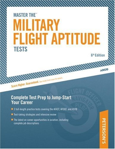 Military Flight Aptitude Tests 6th 2004 edition cover