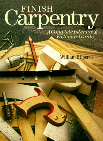 Finish Carpentry A Complete Interior and Exterior Guide  1995 edition cover