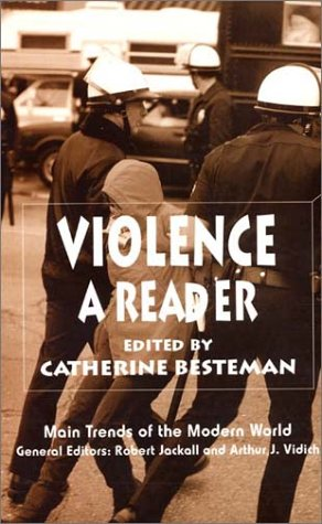 Violence A Reader  2002 edition cover
