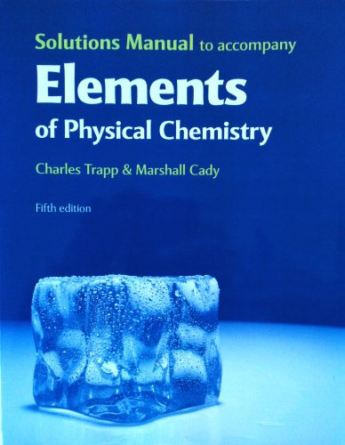 Elements of Physical Chemistry  5th 2008 edition cover