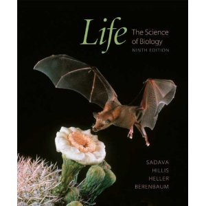 Life - The Science of Biology  9th 2011 edition cover
