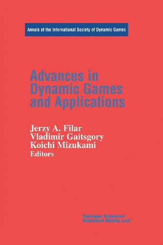 Advances in Dynamic Games and Applications   2000 edition cover