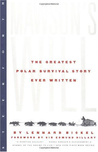 Greatest Polar Survival Story Ever Written  2nd 2000 edition cover