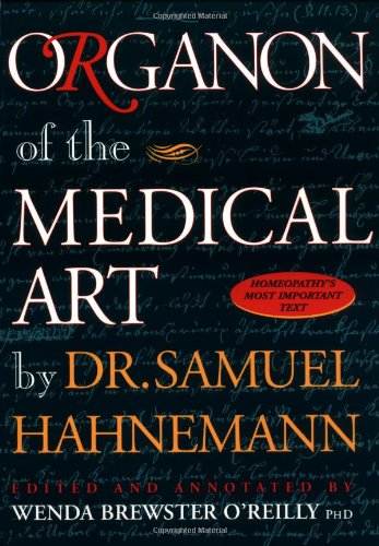 Organon of the Medical Art  6th 1996 (Unabridged) edition cover