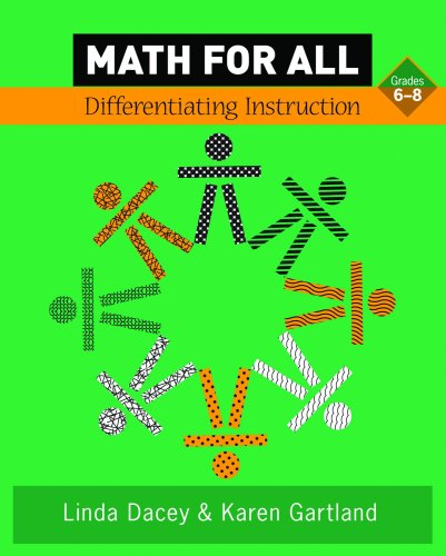 Math for All Differentiating Instruction, Grades 6-8  2009 edition cover