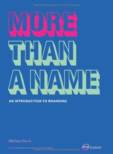 More Than a Name An Introduction to Branding  2005 edition cover