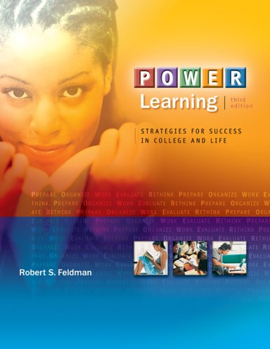 Power Learning Strategies for Success in College and Life (with BookMark, Online Learning Center Bind-in Card) 3rd 2007 (Revised) edition cover