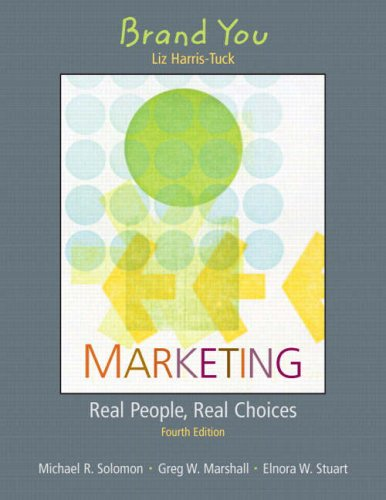 BRAND YOU:MARKETING REAL PEOPL 1st edition cover