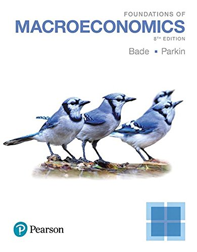 Foundations of Macroeconomics:   2017 9780134492001 Front Cover