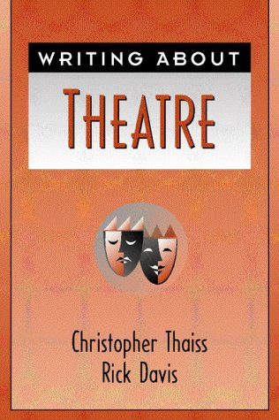 Writing about Theater   1998 edition cover