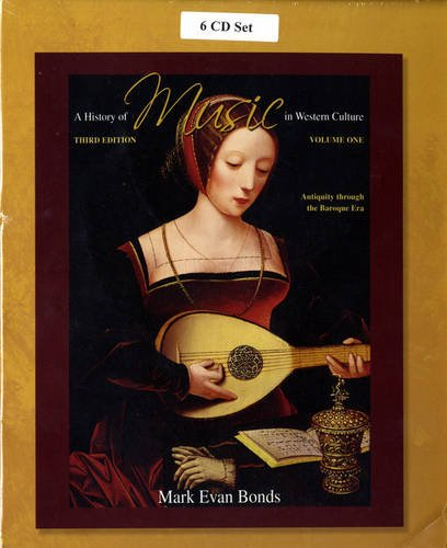 CD Set Volume I for A History of Music in Western Culture  3rd 2010 edition cover