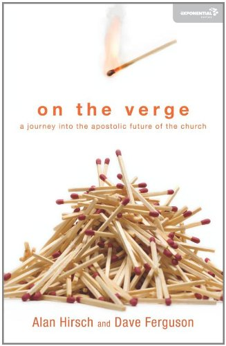 On the Verge A Journey into the Apostolic Future of the Church  2011 edition cover