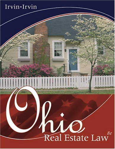Ohio Real Estate Law  8th 2005 (Revised) 9780324233001 Front Cover