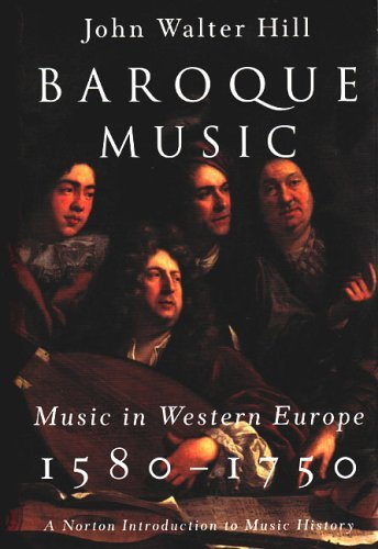 Baroque Music Music in Western Europe, 1580-1750  2004 edition cover
