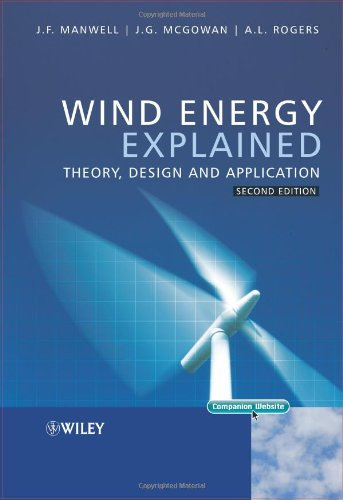 Wind Energy Explained Theory, Design and Application 2nd 2009 edition cover
