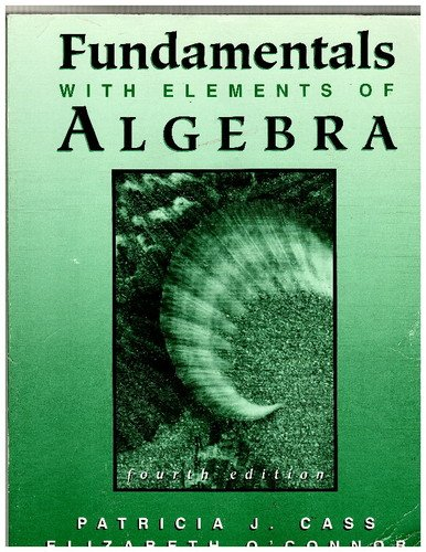 Fundamentals with Elements of Algebra  4th 2002 edition cover