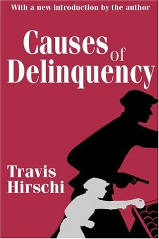 Causes of Delinquency   2001 edition cover