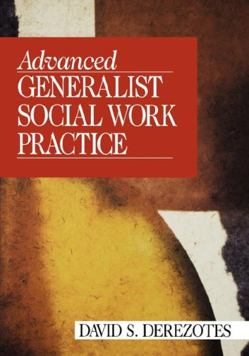 Advanced Generalist Social Work Practice   1999 edition cover