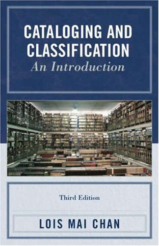 Cataloging and Classification An Introduction 3rd 2007 edition cover