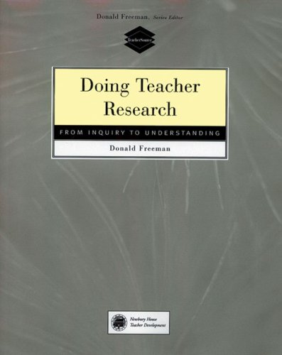 Doing Teacher Research From Inquiry to Understanding 1st 1998 edition cover