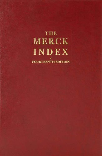 Merck Index An Encyclopedia of Chemicals, Drugs, and Biologicals 14th 2006 (Revised) edition cover