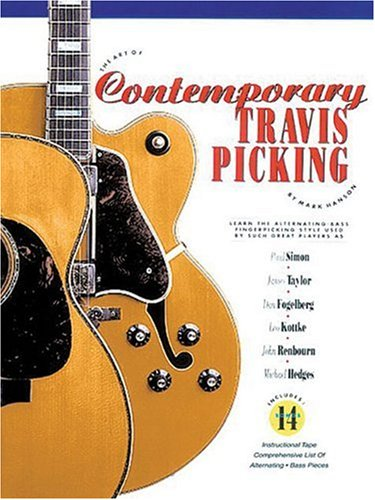 Art of Contemporary Travis Picking How to Play the Alternating-Bass Fingerpicking Style N/A edition cover
