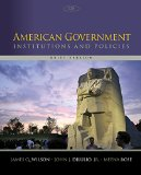 American Government: Institutions and Policies  2015 edition cover
