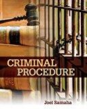 Criminal Procedure:   2017 9781305969001 Front Cover