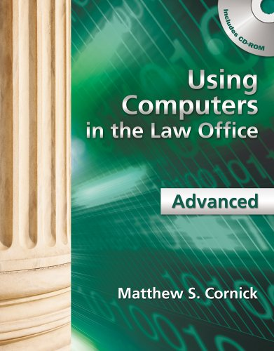 Using Computers in the Law Office - Advanced   2012 edition cover
