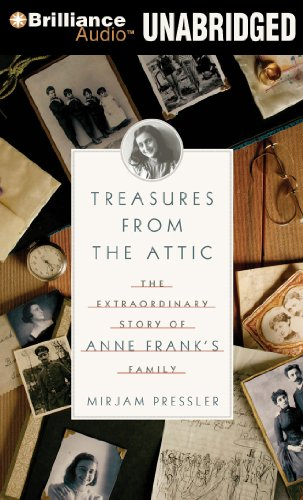 Treasure from the Attic: The Extraordinary Story of Anne Frank's Family  2011 edition cover