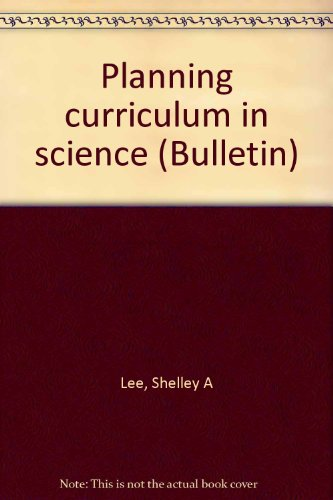Planning Curriculum in Science  2002 edition cover