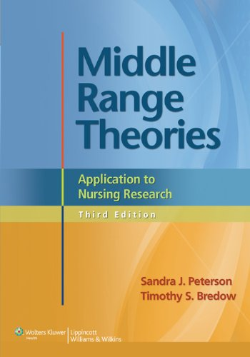Middle Range Theories Application to Nursing Research 3rd 2013 (Revised) 9781608318001 Front Cover