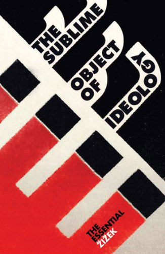 Sublime Object of Ideology  2nd 1989 edition cover