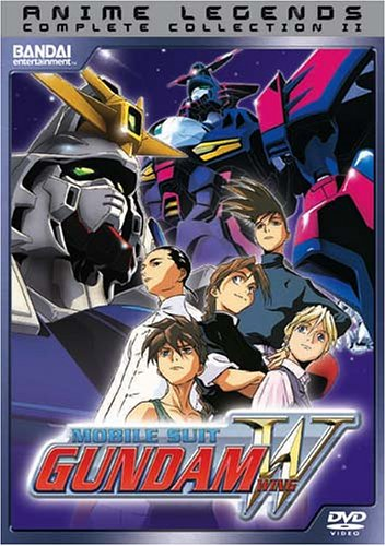Mobile Suit Gundam Wing - Complete Collection 2 System.Collections.Generic.List`1[System.String] artwork