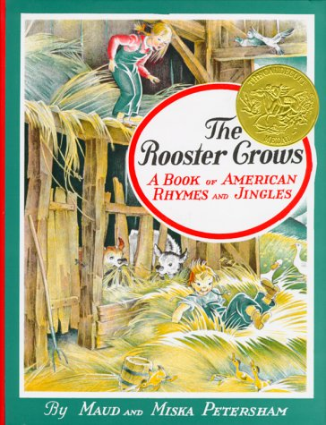 Rooster Crows A Book of American Rhymes and Jingles  1969 9780027731002 Front Cover
